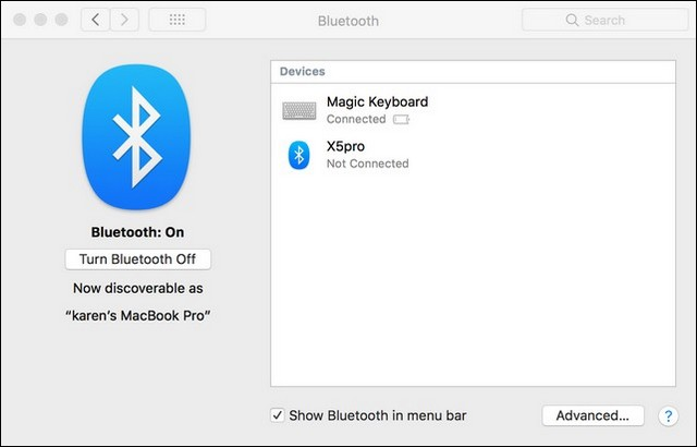 Transfer Files Between Android and Mac Using Bluetooth