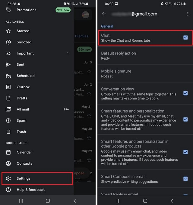 How to Activate Google Chat from Mobile App