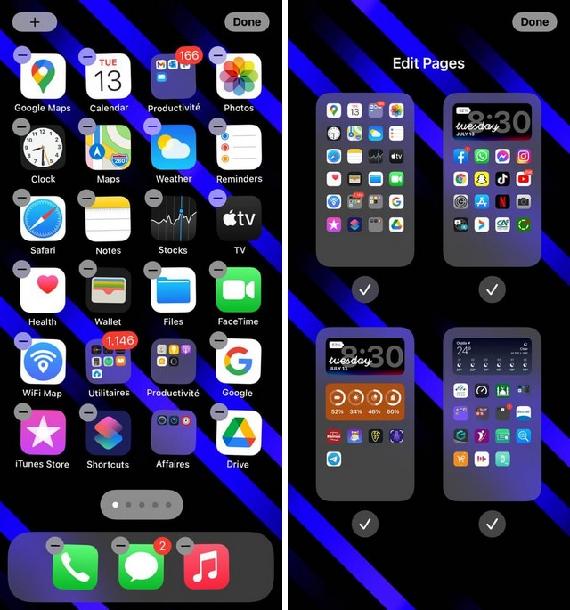 How to Hide a Page of Apps