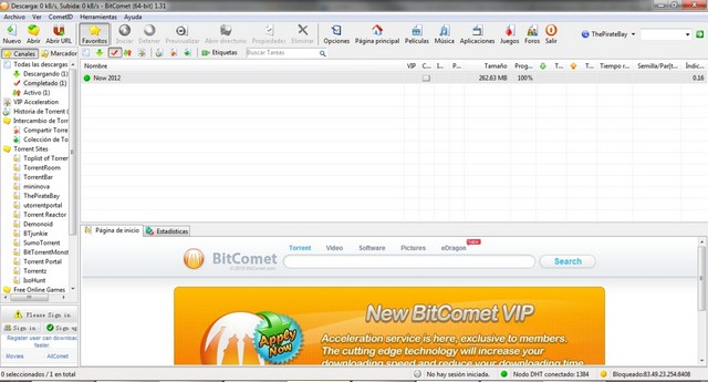 BitComet - Download Manager for Windows