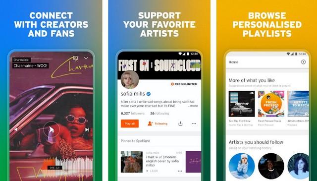 SoundCloud - Best Spotify Alternative