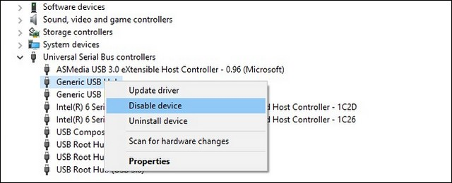 How to Disable USB Ports