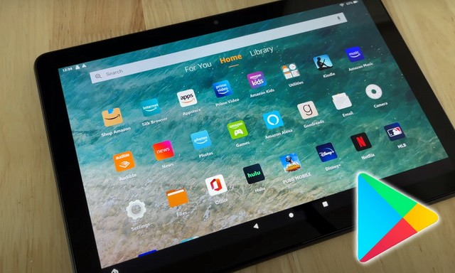 How to Install Google Play Store on Amazon Fire Tablet