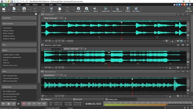 WavePad - Best Audio Editing Software