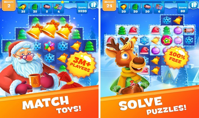 Christmas Sweeper 3 - Best Game for iPhone